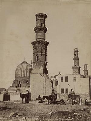 Tombeaux des Mameluks, Caire.: ARNOUX, Hippolyte.