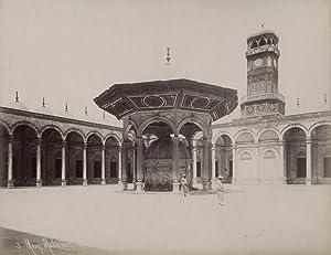 Caire. Mosquée Mohamed Aly.: SÉBAH, J. Pascal.