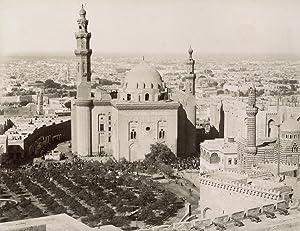 Vue du Caire et Mosqué Sultan Hassan.: ZANGAKI (C. & G. Zangaki Brothers).