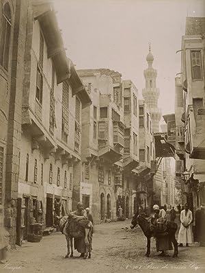 Rue de vieux, Caire.: ZANGAKI (C. & G. Zangaki Brothers).