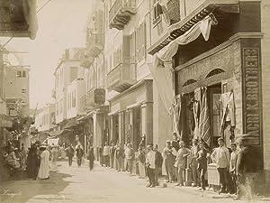 Une Rue de Suez.: ZANGAKI (C. &