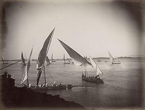 Vue du Nil.: BEATO, Antonio.