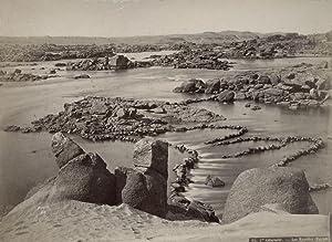 1ste Cataracte - Le s Rapides (Égypte).: BONFILS, Felix.