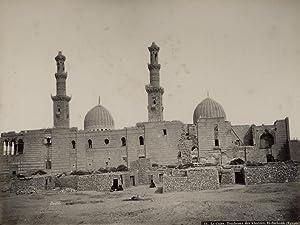 Le Caire. Tombeaux des Khalifes. El-Barkouk (Égypte).: BONFILS, Felix.