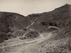 Thebes. Vallée des tombeaux - Bab-el-Molok (Égypte).: BONFILS, Felix.