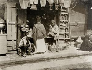 Klempnerladen in Cairo.: LEIPZIGER PRESSE-BURO.