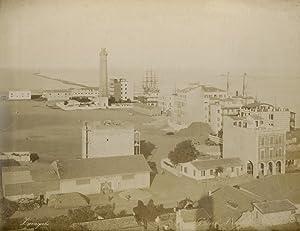 Phare et vue de Port Said.: ZANGAKI (C. &