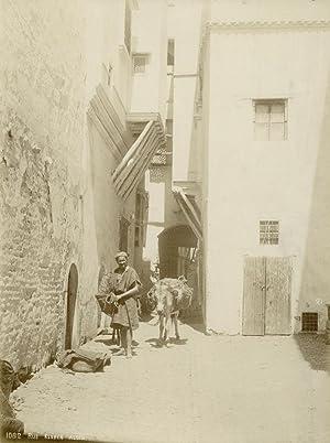 Alger. Rue Kleber.: ALGERIA.