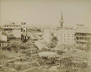Vue generale de la Place de Lesseps. Port Said.: ZANGAKI (C. & G. Zangaki Brothers).