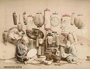 Japanese Lantern Makers.: KIMBEI, Kusakabe.