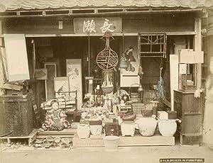 A Dealer in Furniture.: KIMBEI, Kusakabe.