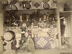 Buddhist Priest.: KIMBEI, Kusakabe (Attributed