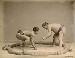 Wrestlers.: KIMBEI, Kusakabe.