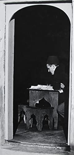 Man reading newspaper, Turkey.: ETTEN, Chr. van.
