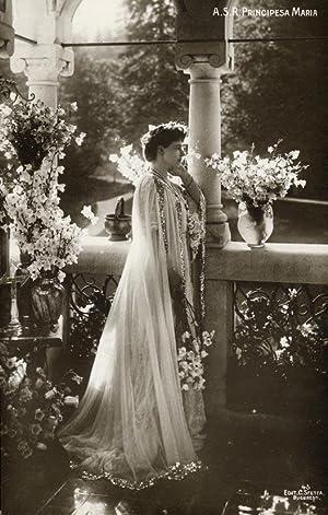 Portrait of Marie of Roumania (Princess Marie: SFETEA, C.