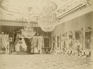 Crownhall of Palais Bey.: TUNIS.