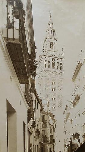 Calle de Placentines, Giralda de Sevilla.: SEVILLA.