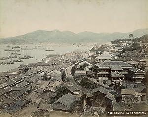 Konpira Hill at Nagasaki.: NAGASAKI.