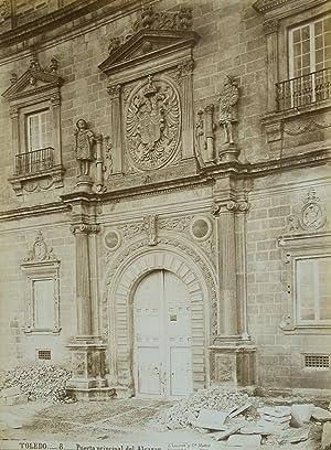 Toledo. Puerto principal del Alcazar.: LAURENT y Cie,