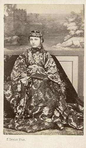 Cairo, young turkish woman.: DESIRÉ, Ermé.