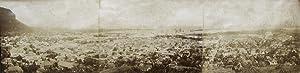 Panorama in 3 parts.: PORT LOUIS - MAURITIUS.