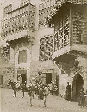 Maison arabe et Moucharabie.: ZANGAKI (C. & G. Zangaki Brothers).