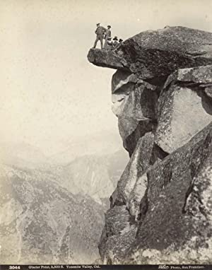 Glacier Point, 3,300 ft. Yosemite Valley.: TABER, Isaiah West.