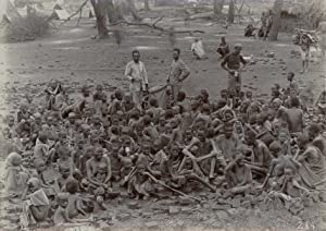 Large group of underfed childen and some: GOMES & Co.,