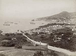 Panoramic view of Funchal, Madeira, from East.: FUNCHAL.