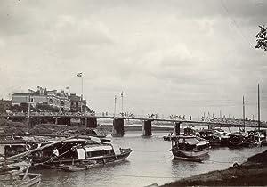 View on the Garden Bridge, Soochow Creek and Whanpoo River.: SHANGHAI.