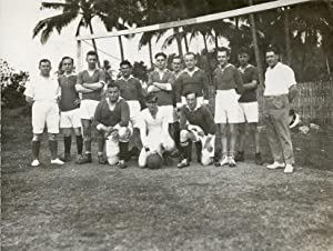 "Soccer-club ""Slamat"", Batavia, compiled from the crew of the SS Slamat from the ..."