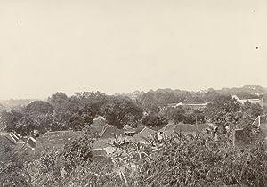 Panoramic View on Houses.: SOERAKARTA.