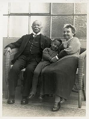 Portrait of Didi Rijkee and his Grandparents.: MALANG.