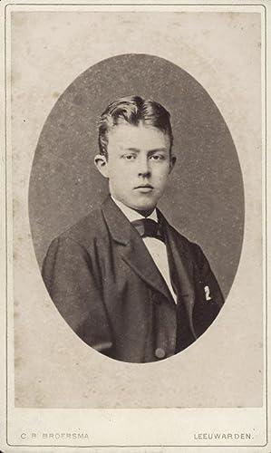 Portrait of H. Witteveen.: BROERSMA, C. B.