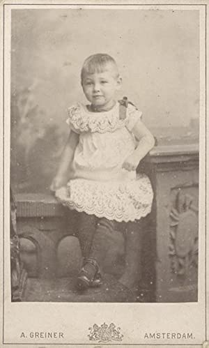 Portrait of Sytske de Hoop Scheffer-Prager.: GREINER, Albert.