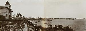 General view of Daresalam. Panoramic view in: GOMES & Co.,