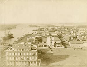Vue générale de Port Said.: ZANGAKI (C. &