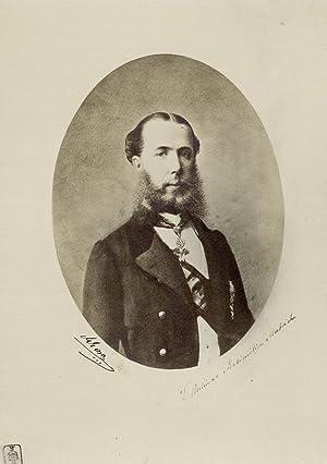 Photograph Maximilian I of Mexico.: MAXIMILIAN I.