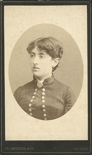 Portrait of Louise Frédérique Marie Victoire Henriette barones van Boecop.: LAVIETER & Co, De.
