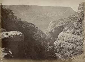 View from Great Fall, Matheran, India.: BOURNE, Samuel &