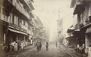 Borah Bazar Street, Bombay.: BOURNE, Samuel & SHEPHERD.