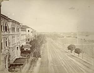 View from the Imperial Museum, Calcutta.: BOURNE, Samuel &