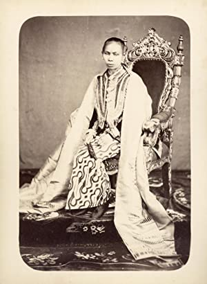 Portrait of the Spouse of Sultan Aji Muhammad Sulaiman of Kutai.: SULAIMAN.