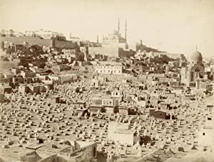 Citadel et cimétière arabe (Cairo).: ZANGAKI (C. & G. Zangaki Brothers).