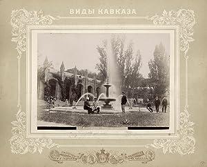 Kislovodsk - Fountain Narzan Gallery, Kurortnoy Boulevard.: GADAEV, F.