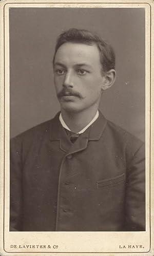 Portrait of Frank van Vloten.: LAVIETER & Co,