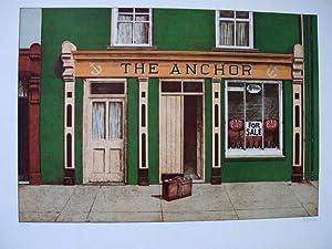 The Anchor. Original coloured lithograph.: MORITZ, Klaus