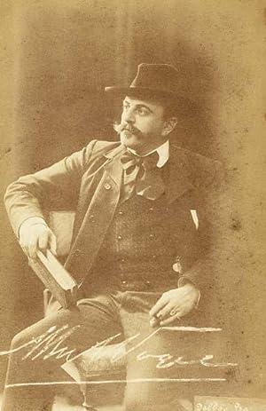 Portrait, by Delboy-Baer,: VOGEL, Sr., Albert
