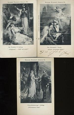 Opera's III. Das Rheingold I, Die Walküre II, Götterdämmering I.: WAGNER, ...