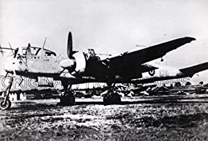 He 219, RAF markings.: HEINKEL.
